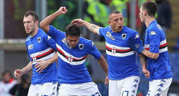 Europa League Sampdoria-Vojvodina Rojadirecta, info streaming video live, diretta Rai tv, probabili formazioni