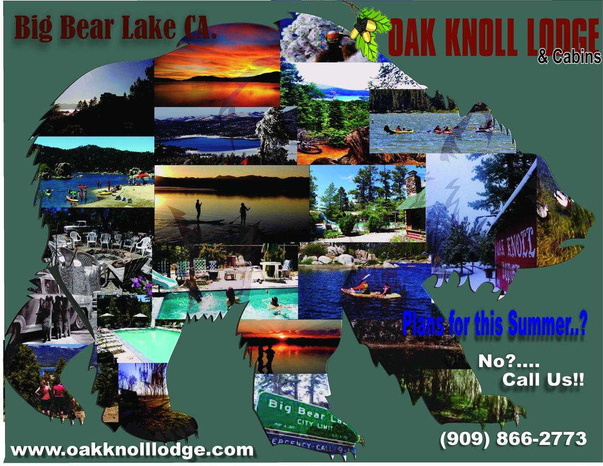 Oak Knoll Lodge And Cabins Big Bear Lake Ca 909 866 2773