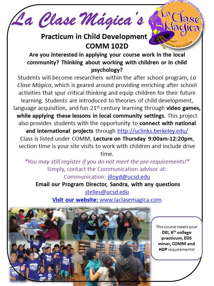 ucsd ccc on twitter interested in a practicum enroll in la clase