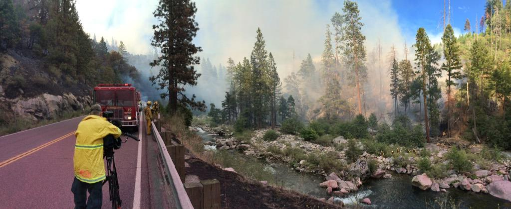 Cfn California Fire News Cal Fire News Ca Enf Kyburz Fire