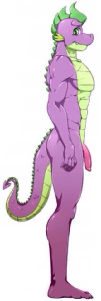 The porn Spike dragon