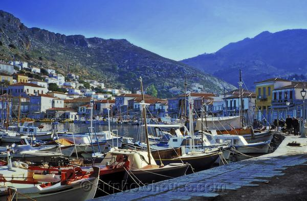 Wonderful Travel Image from Hydra  http:// smq.tc/SYKmnv  &nbsp;   of Boats in Harbor &quot;Hydra Blue&quot; by @ArtPhoto #travel <br>http://pic.twitter.com/T8gvLkntxR