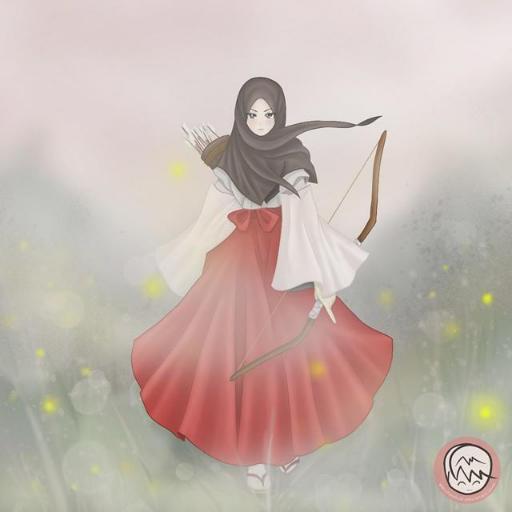 77+ Gambar Kartun Hijab Memanah Gratis Terbaru