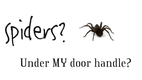Whatilearnedtoday What To Do If There S A Spider Under Your Car Door Handle Http Bit Ly 1jj2acd Freeadvicepic Twitter He7gdgmc73