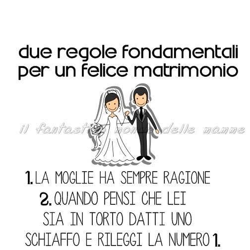 Matrimonio Blog Regole Per Un Buon Matrimonio