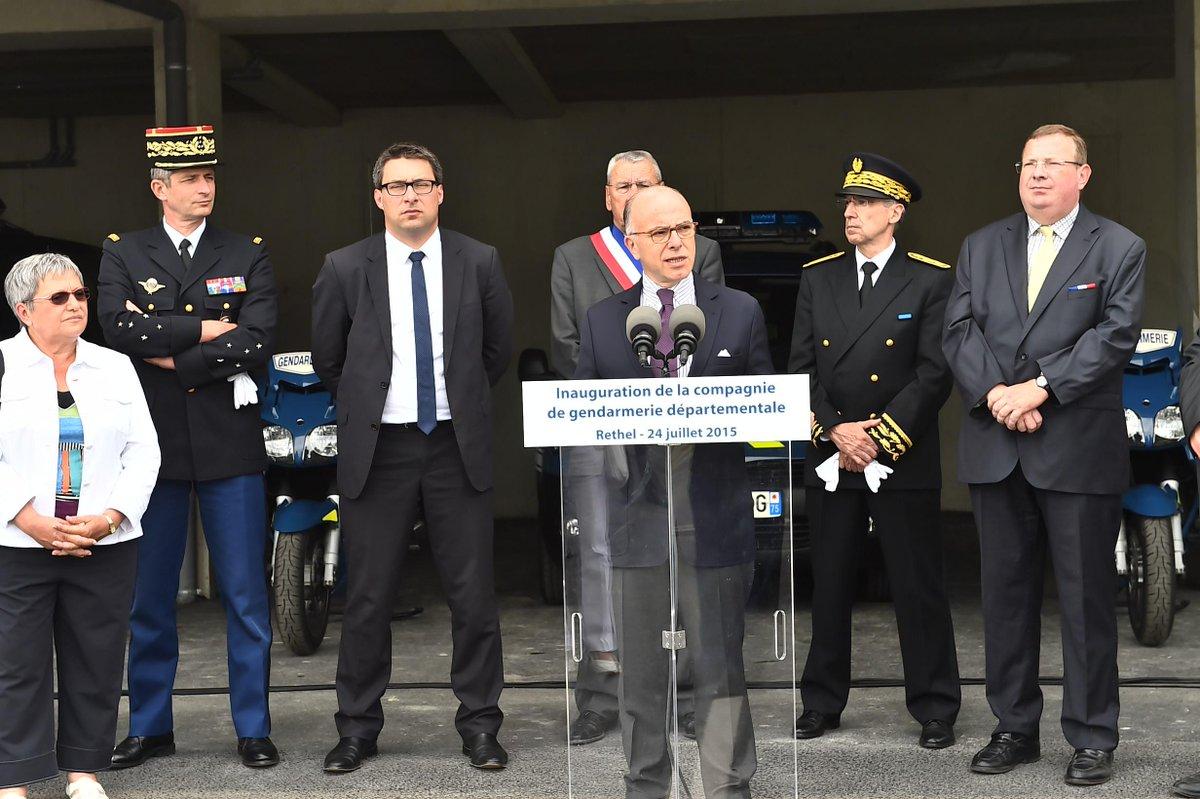 Minist re int rieur on twitter en d placement dans les for Gendarmerie interieur