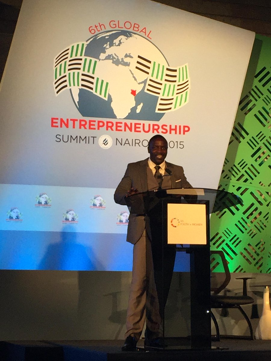 It was great to have @Akon at GES Y + W this morning in Kenya! #GESKenya2015 http://t.co/fPZqMZTK2D
