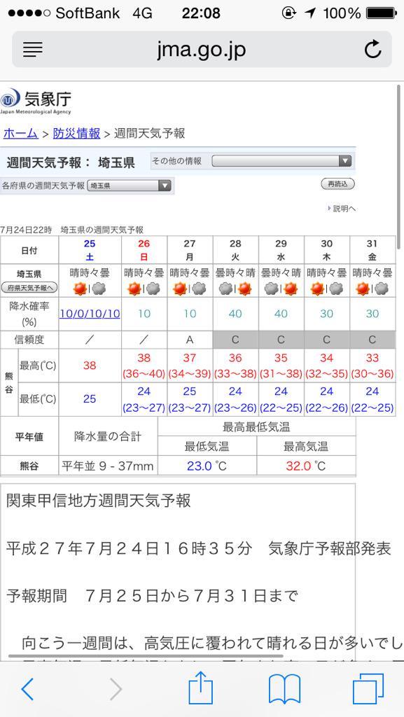【猛暑】週末 気温40℃の可能性も 各地で猛暑に警戒