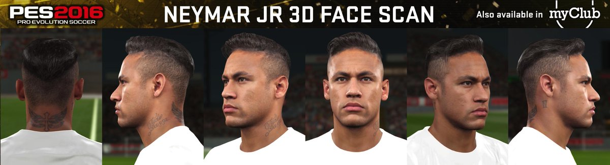 This is how I will look in #PES2016 ! Amazing !
