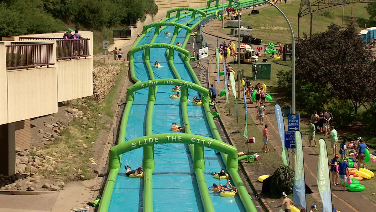 Sorry Ottawa: Slide the City organizers and the city couldn't agree on a street for a giant slip-and-slide. #ottnews http://t.co/QxYo3jLMZT