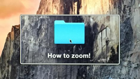 how to zoom in on mac