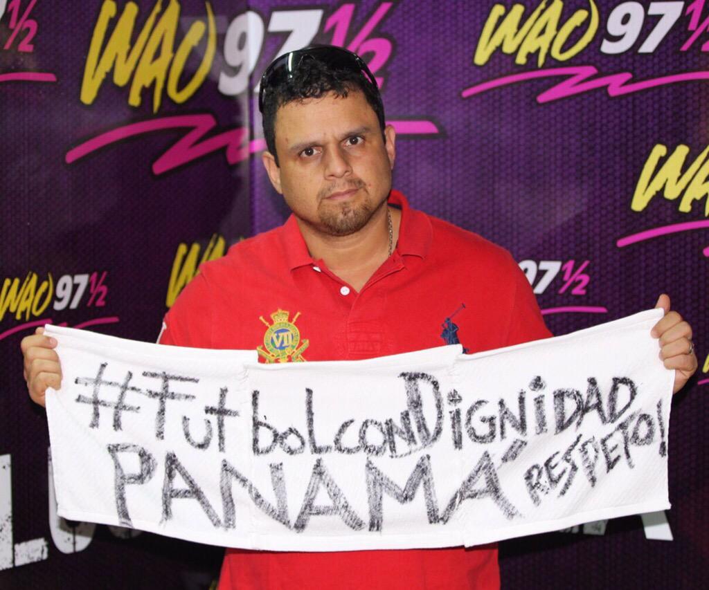 Hagan lo que hagan, no nos callarán @CONCACAF #FutbolConDignidad #TeAmoPanama http://t.co/3IFFbWDhMv