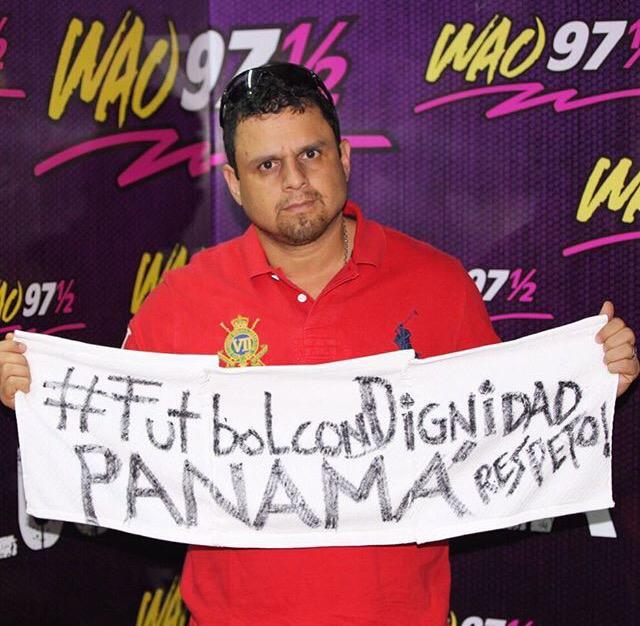 #PanamaSeRespeta #FutbolConDignidad @rafazevallos http://t.co/LUZpzzPQN9
