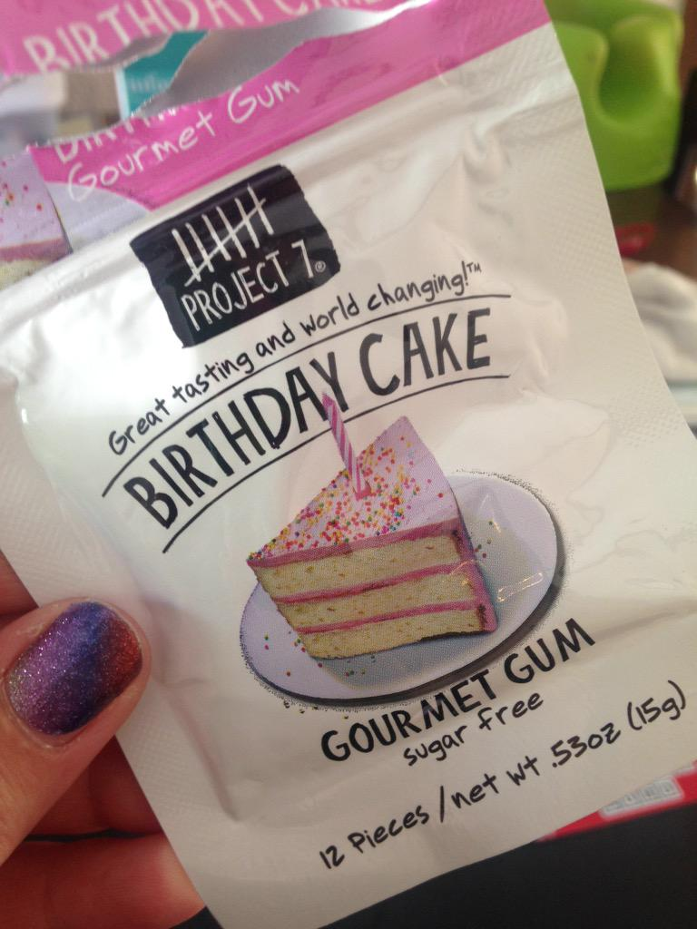 Project7 Bought The Birthday Cake Gum At Target TodaySO GOOD Tastes Just Like Funfettipictwitter SEhqTVbpWA