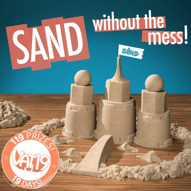 Retweet this for a chance to win Sand by 11:00am CST on 7/27/15! #Vat19 #119in19 http://t.co/HLprjlZPCp