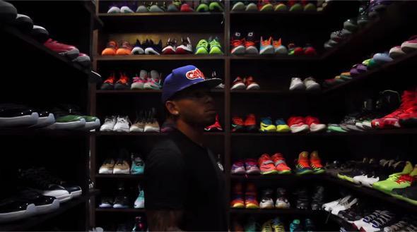 Video Browns Joe Haden Gives A Tour Of His Massive Shoe Closet Watch