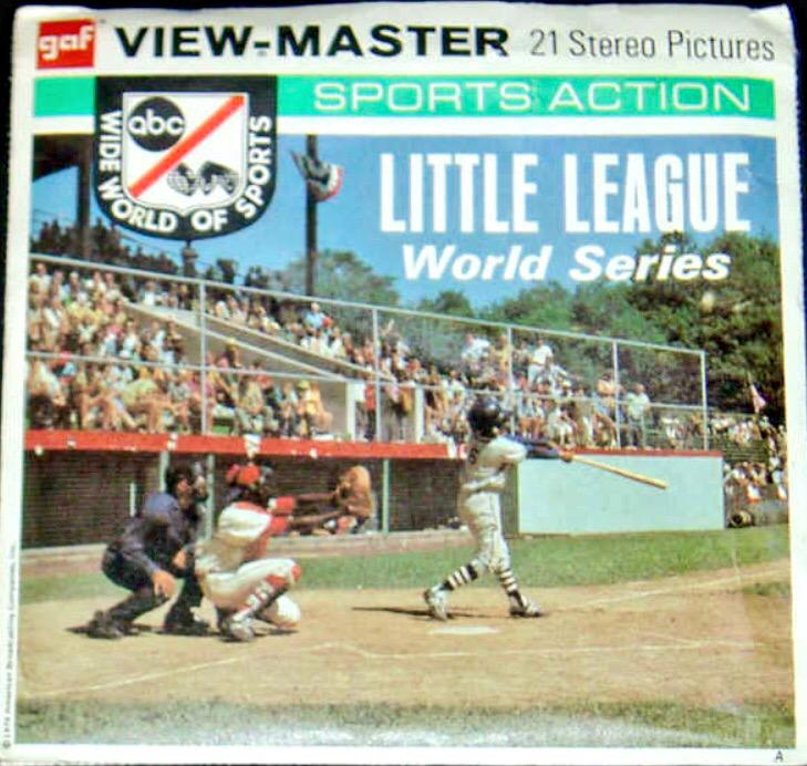 f5604c545b5de Cool View Master (anyone remember those ) set showing Little League World  Series ...