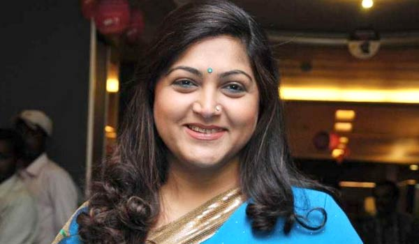 Zee Tamil's new chat show 'Simply Kushboo'
