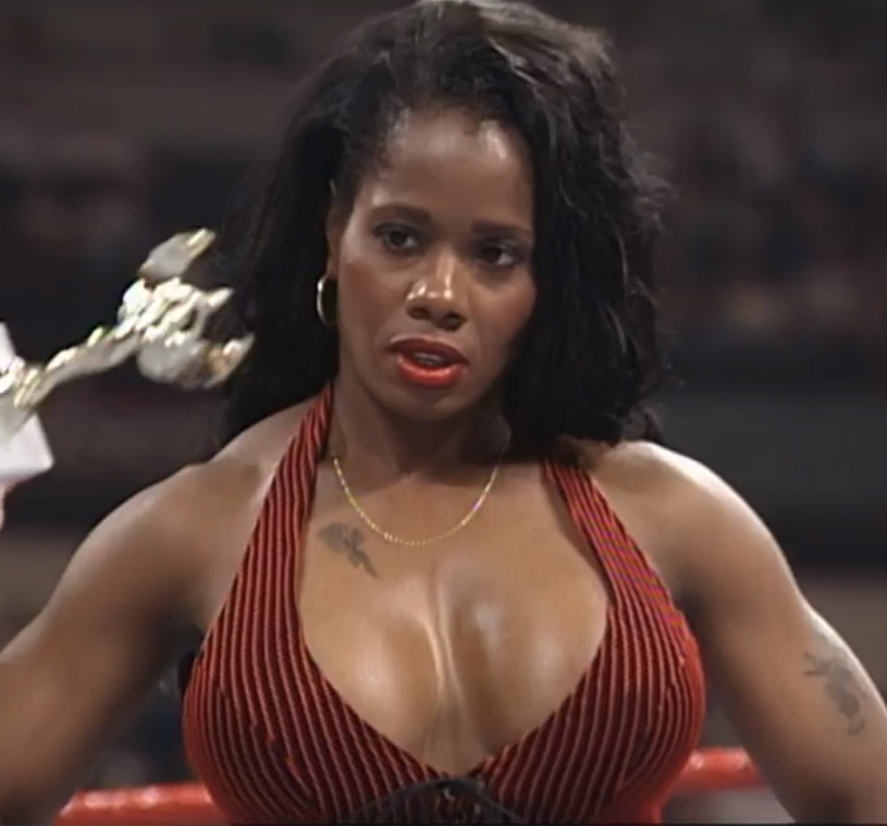 """Throwback Divas on Twitter: """"Jacqueline Moore - Raw Is War ..."""