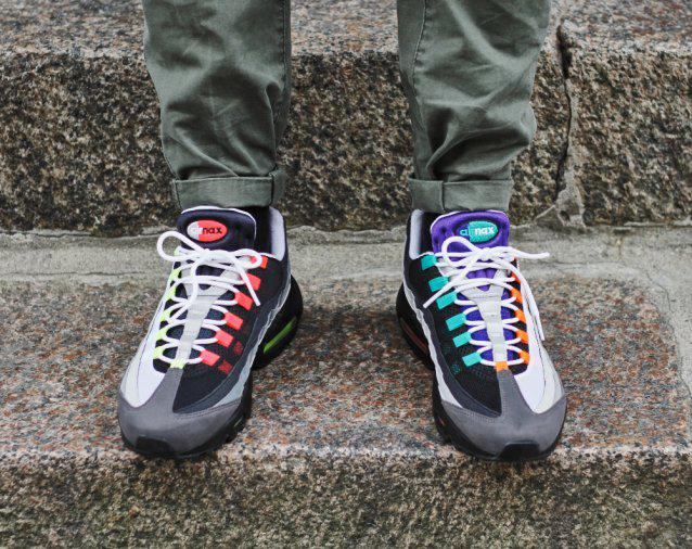 newest 47301 86b5f ... order the sole supplier on twitter nike air max 95 greedy launching at  size t.
