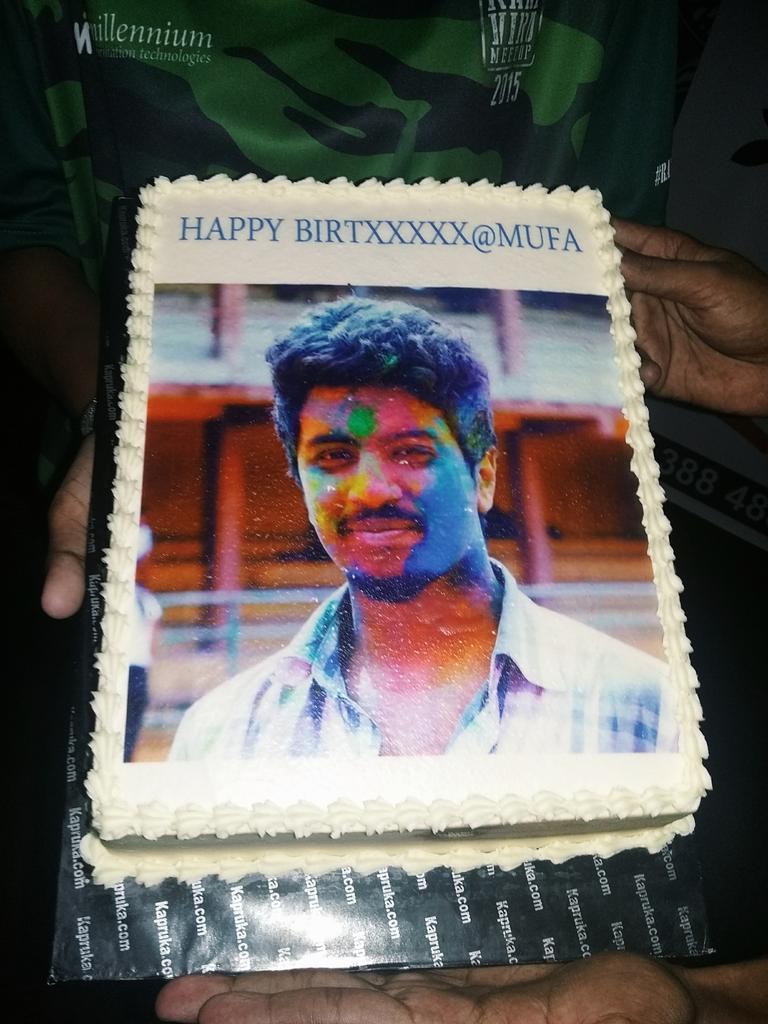 Yeaayy my birthday cake