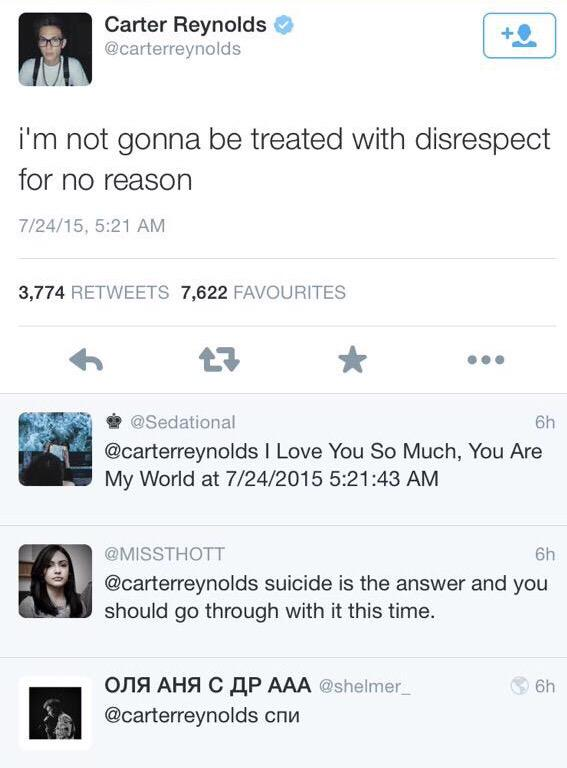 #RespectForCarter Let's not forget http://t.co/ZqdnULb5AG