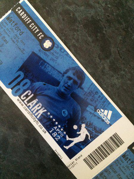 New Cardiff City matchday tickets. Very impressive http://t.co/4fNqU7296Q