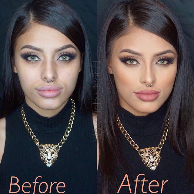 "Assez ABH Cosmetics on Twitter: ""Contour & Highlight done using Cream  YU92"