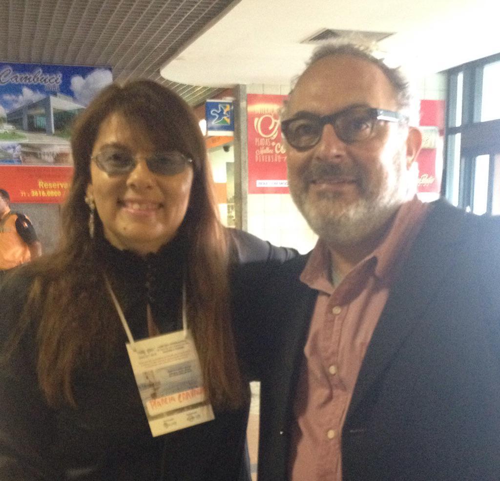 Já em solo baiano, o professor doutor Paulo Nassar, que fará a conferência de encerramento do #SINCULT2015 as 17h http://t.co/1Oo4ERntjb