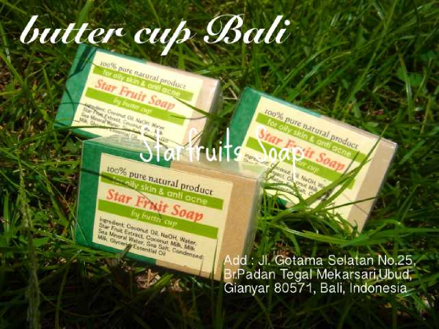 """Our """"Starfruits Soap"""" is for Oily & Acne Skin. Many fruits and vagetable has a good effect for skin #bali #ubud #soap pic.twitter.com/OJolkYBRng"""