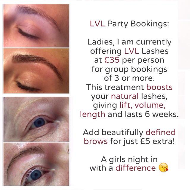 Brow Addict On Twitter Lvl Party Bookings In Sheffield Brows