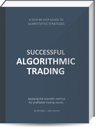 Algorithmic trading strategies python