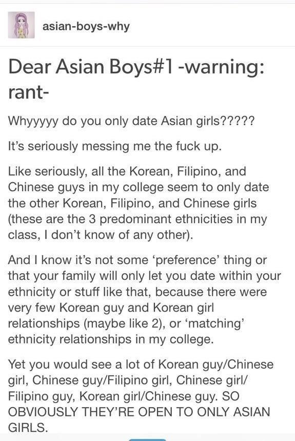 do white men like asian girls