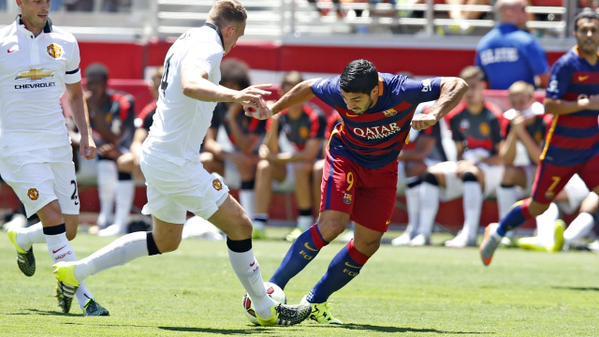Man United 3-1 Barcelona - Match Report