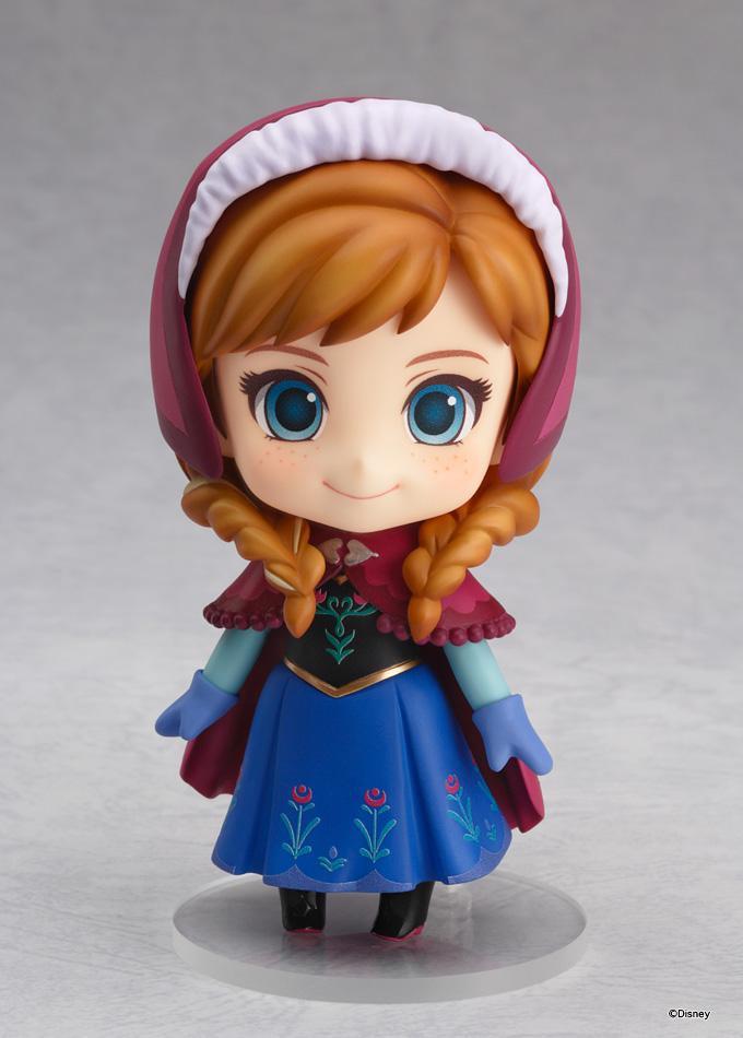 【ねんどろいど アナ】#アナ雪 #goodsmile #wf2015s エルサに続いてアナもちっちゃ可愛く登場です♥︎