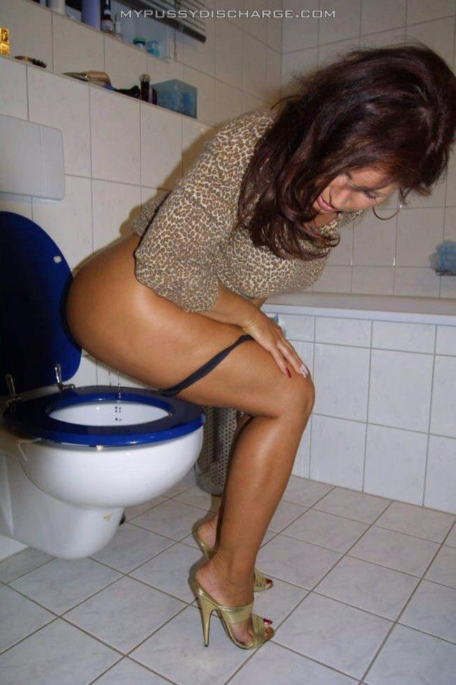 pissing in butt