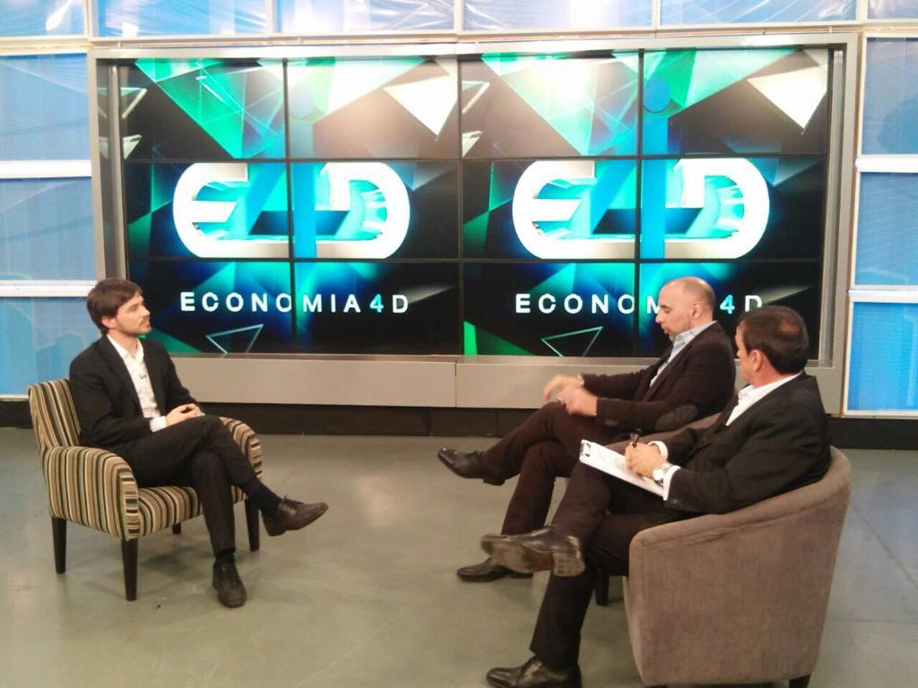 """Agustin D'Attellis on Twitter: """"Esta noche 21hs @Economia4Dtv x @CN23 entrevista exclusiva c Augusto Costa,Sec. de Comercio de la Nacion."""