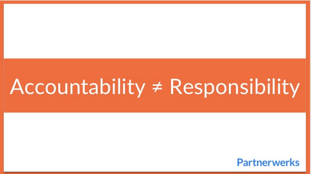 Slideshare -> Accountability ≠ Responsibility  #accountability #leadership http://t.co/dfLfnLVAL0 http://t.co/DiD9MJk5ru