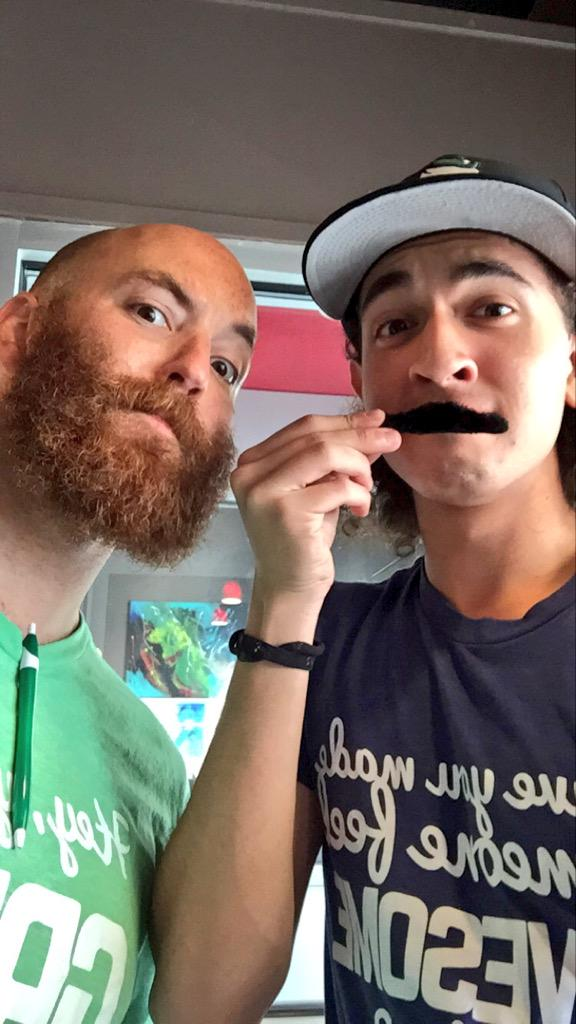 Just receiving a lesson from THE @JephMaystruck on moustache growth. Nbd! #BIGideacamp15 http://t.co/qOfExYAKrI