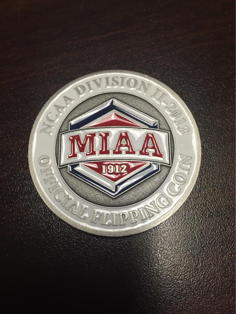 "Ryan Rebholz on Twitter: "".@TheMIAA Just found your flipping coin ..."