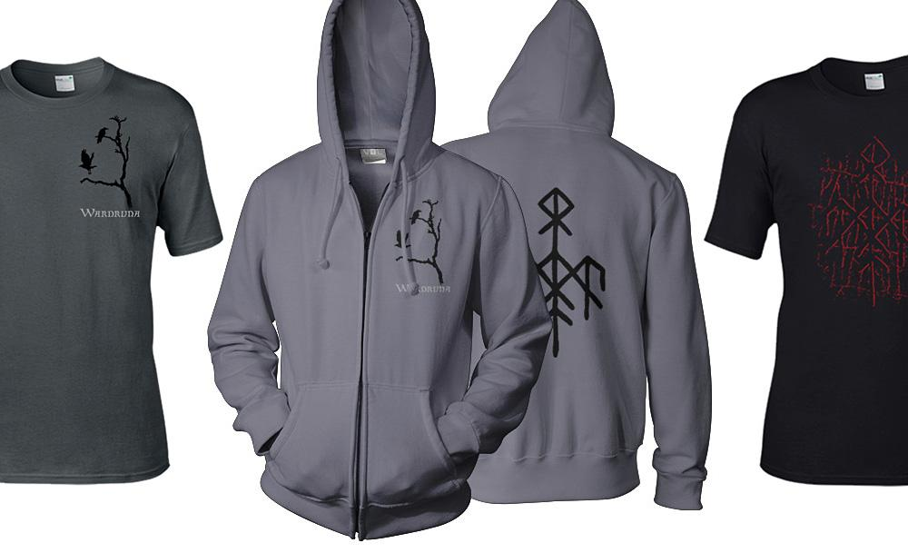 Wardruna T-shirts and zip hoodies are finally available again. http://www.indiemerch.com/wardruna