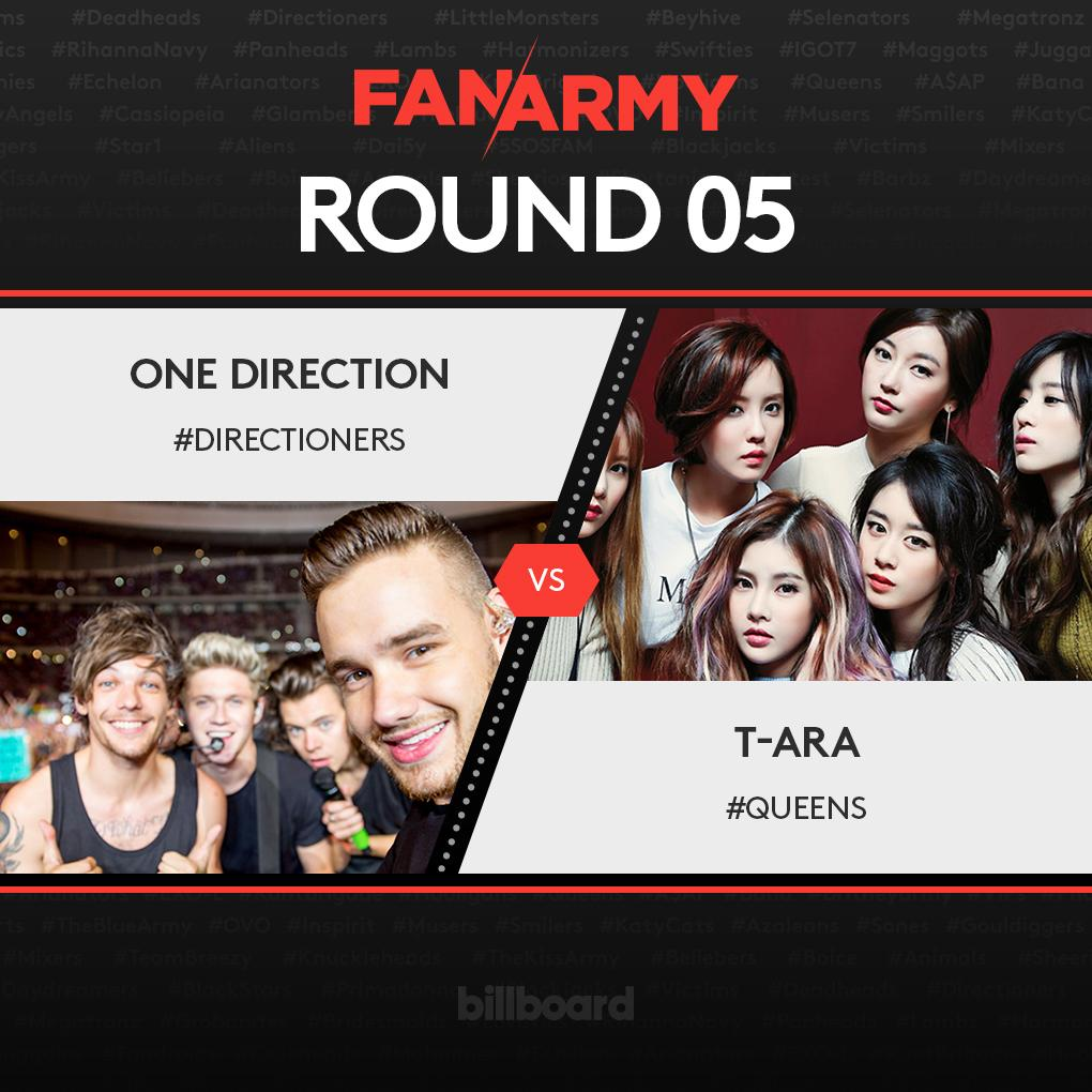 #Directioners are up against #Queens in Round 5 of #FanArmyFaceOff: http://t.co/sZNDlDJ3yc