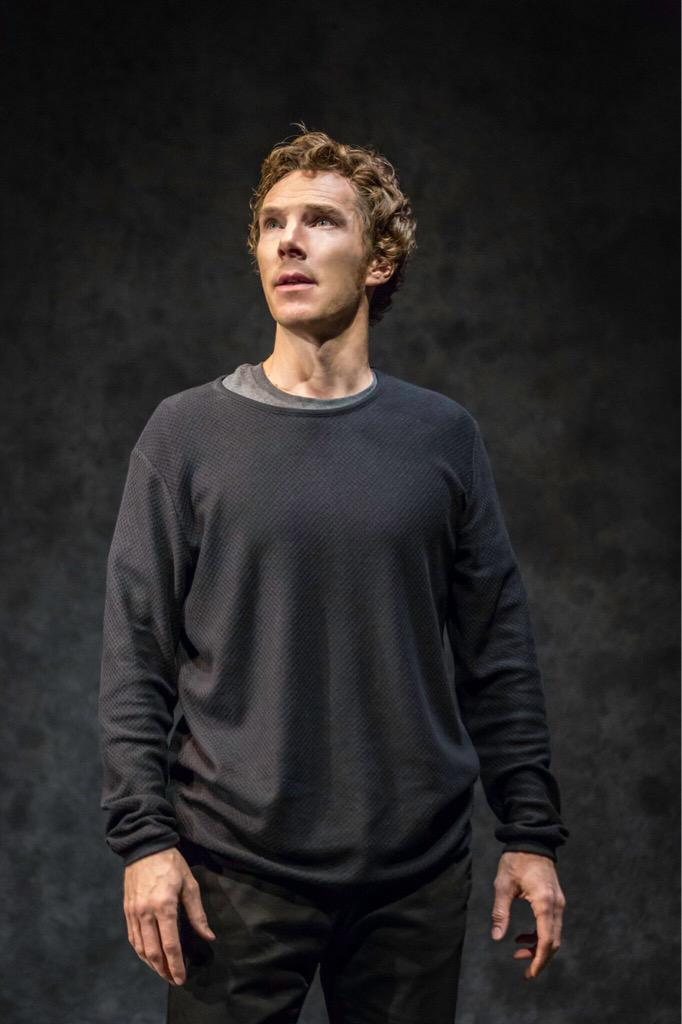 """Patience is a virtue"" sounds like something Polonius would say but these photos were worth the wait! #HamletBarbican http://t.co/4vurptP0WK"