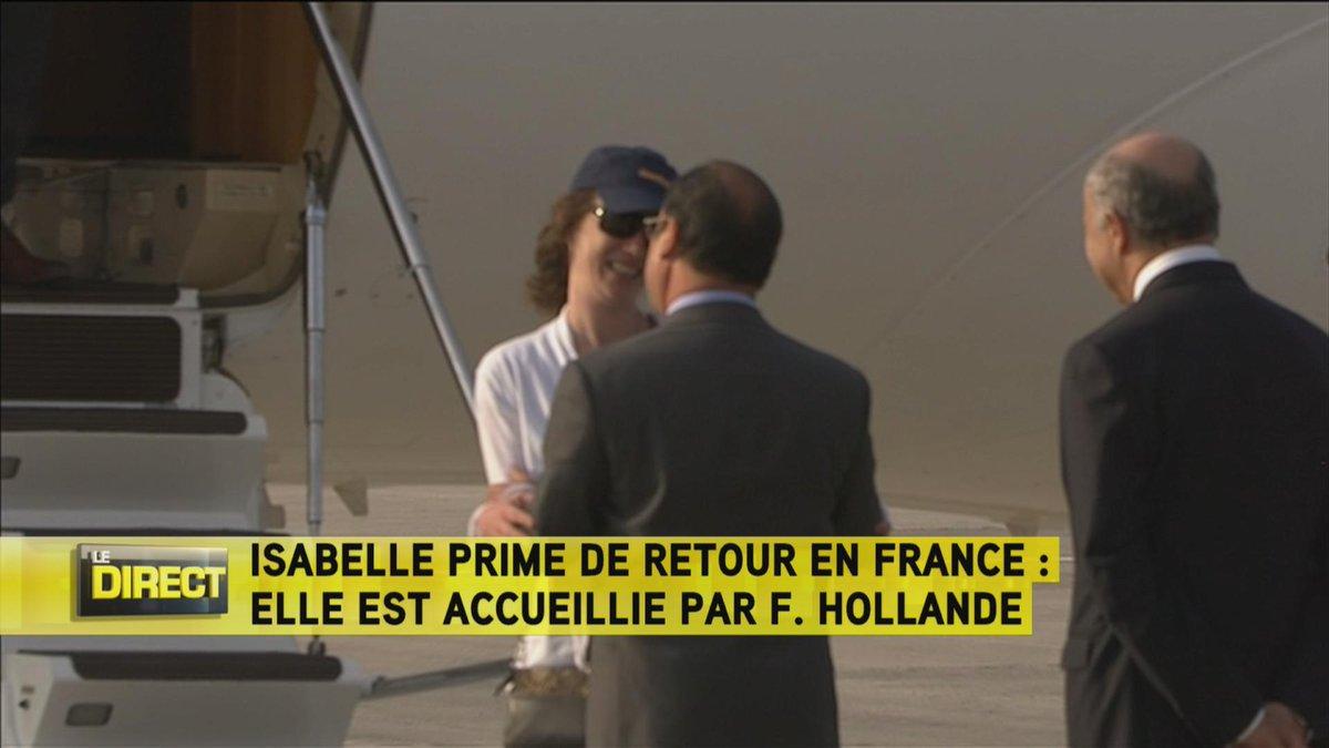L'ex-otage au Yémen Isabelle Prime de retour en France CL0mxQyWwAAhcoa