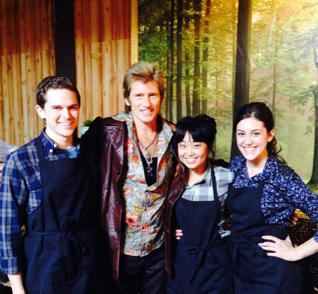 """Alice Perrin On Twitter Last Day On Set: Denis Leary On Twitter: """"3 Very Talented Young Actors Who"""