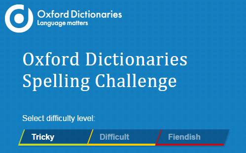 Image result for oxford spelling challenge