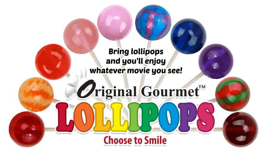 Original Gourmet Lollipops Birthday Cake