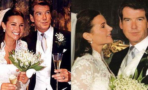 PierceBrosnan 007 Sirrogermoore Happy Wedding Anniversary PIERCE BROSNAN KEELY SHAYE SMITHpictwitter Tx0kTJ5znD