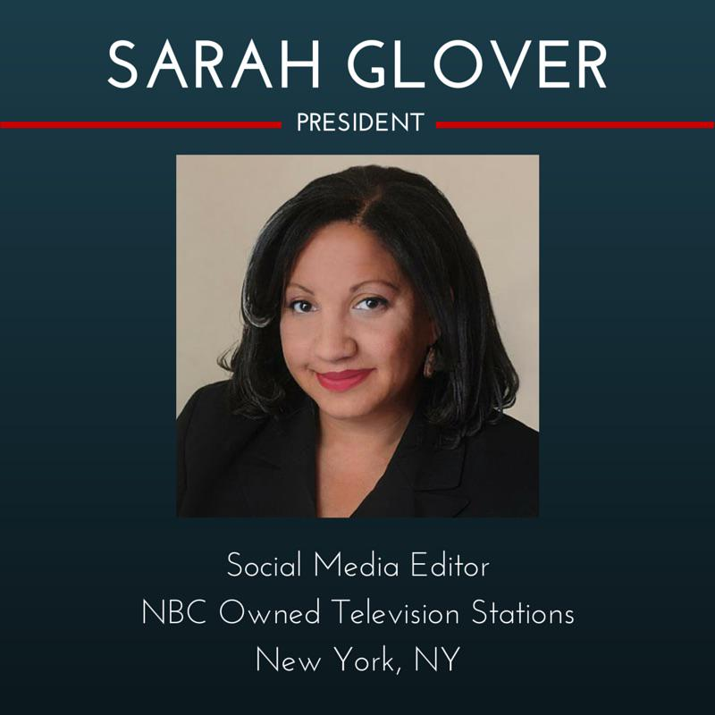 Congratulations to our new @NABJ Pres Sarah Glover @sarah4nabj w/ a total of 347 votes #NABJ40 http://t.co/VL0Gx4Izqy