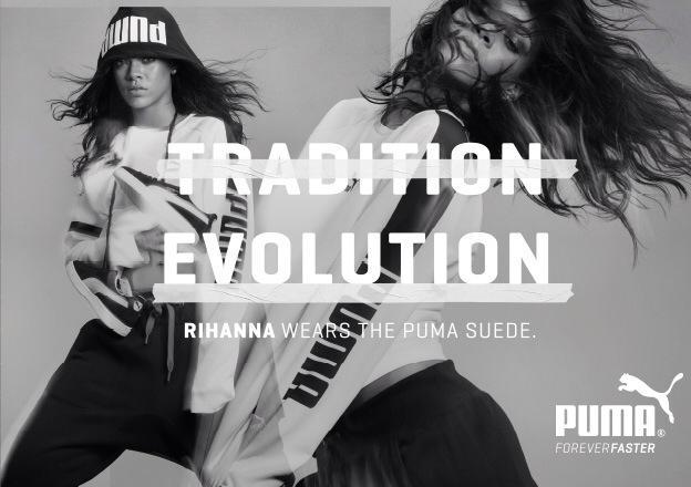 puma rihanna musique